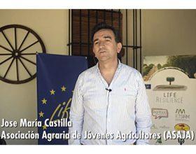 Presentación de Asaja en el Kick of meeting de Life Resilience