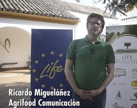 Presentación de Agrifood Comunicación en el Kick of meeting de Life Resilience