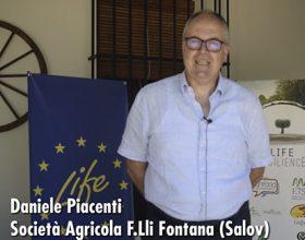 Presentación de Salov en italiano durante el Kick of meeting de Life Resilience