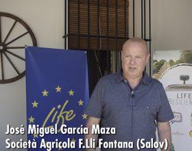 Presentación de Salov en español durante el Kick of meeting de Life Resilience