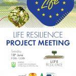 Life Resilience organiza un comité de seguimiento en Pisa