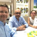 Meeting with the UCAM to talk about Xylella