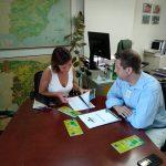 Life Resilience visita a Silvia Capdevila