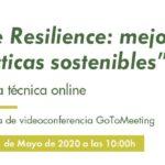 """Jornada técnica online """"Life Resilience: mejores prácticas sostenibles"""""""