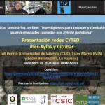 """Asistimos al webinar """"Presentación de las Redes CYTED: IberXyfas y Citribac, contra Xylella fastidiosa"""""""